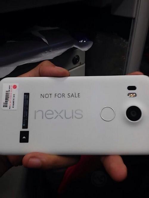 Nexus 5 : une photo du terminal apparaît sur le web