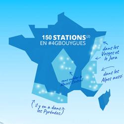 4G : Bouygues Telecom couvre 150 stations de ski