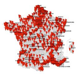 4G+ : SFR poursuit intensivement ses déploiements sur toute la France