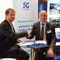 5G : Bouygues Telecom et Utac Ceram signe un partenariat portant sur des véhicules autonomes et connectés