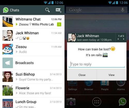 800 millions d'utilisateurs actifs et réguliers pour Whatsapp