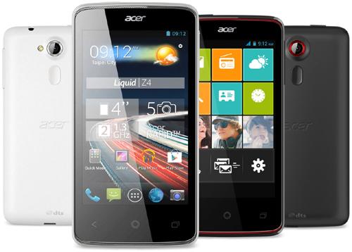 Acer : une touche de compacité avec le Liquid Z4 duo
