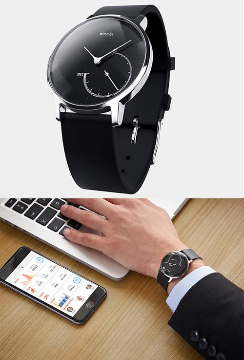 Activité steel : le français Withings dévoile une nouvelle montre connectée