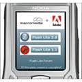 Adobe annonce l'arriv�e d'un lecteur Flash pour mobiles