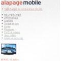 alapage.com devient mobile
