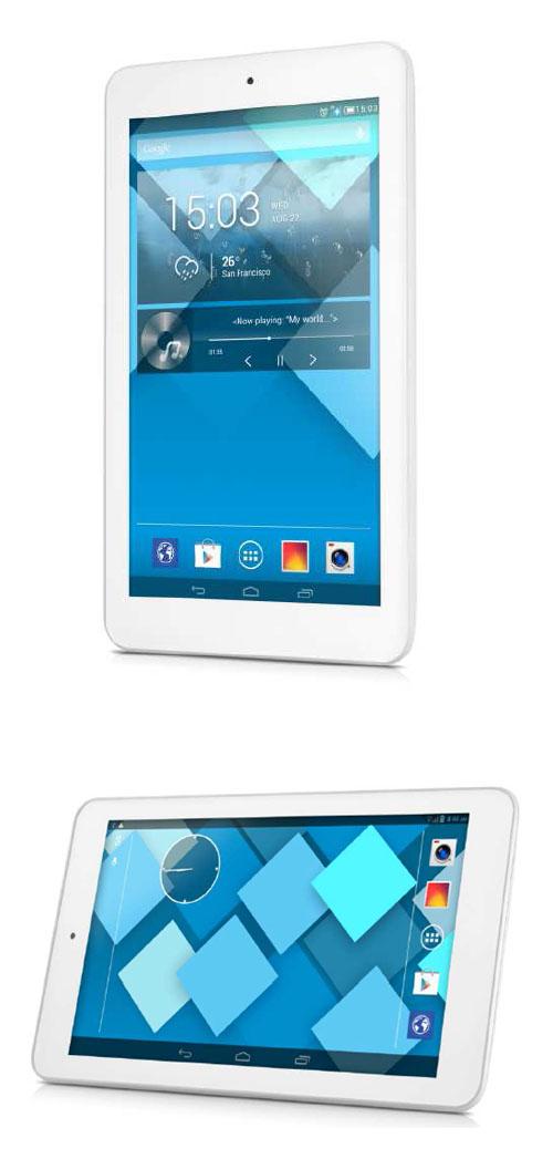 Alcatel dvoile une tablette android de 7 pouces petit prix - Tablette a petit prix ...