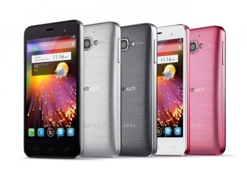 Alcatel lève le voile sur le smartphone One Touch Star