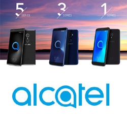 alcatel pr sente au mwc 2018 ses nouvelles s ries alcatel 5 3 et 1 au format 18 9. Black Bedroom Furniture Sets. Home Design Ideas