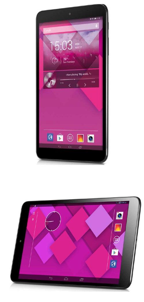 Alcatel présente sa tablette Android de 8 pouces