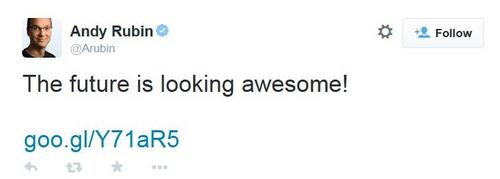 Andy Rubin, le cofondateur d'Android ne fait plus partie de Google