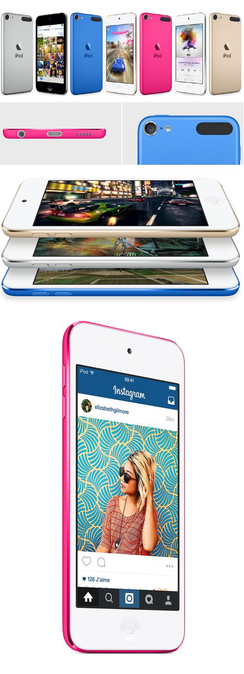 Apple : l'iPod Touch nouvelle génération est arrivé