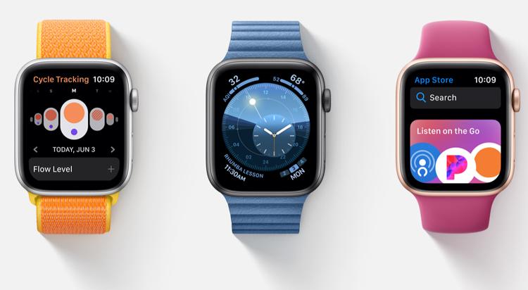 Apple : la nouvelle interface watchOS 6 mise tout sur la santé