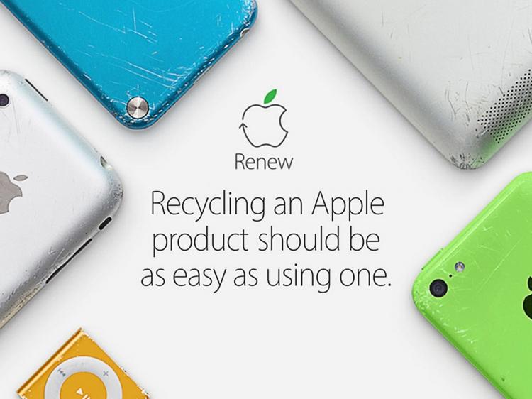 Les iPhone, iPad et Mac bientôt entièrement recyclés?