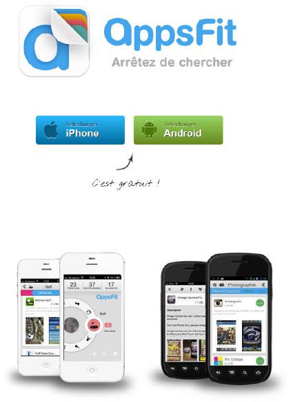 Appsfit lance un moteur de recherche afin de trouver facilement son application