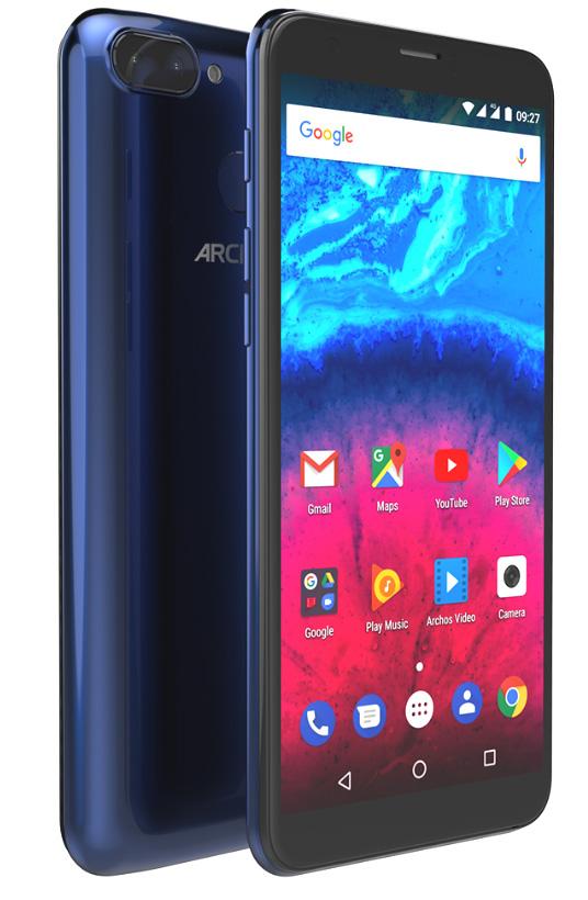 Archos dévoile ses nouveaux modèles Core 55S, 57S et 60S