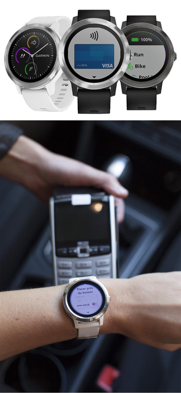 Régler ses achats avec une montre Garmin sera possible en mars 2018