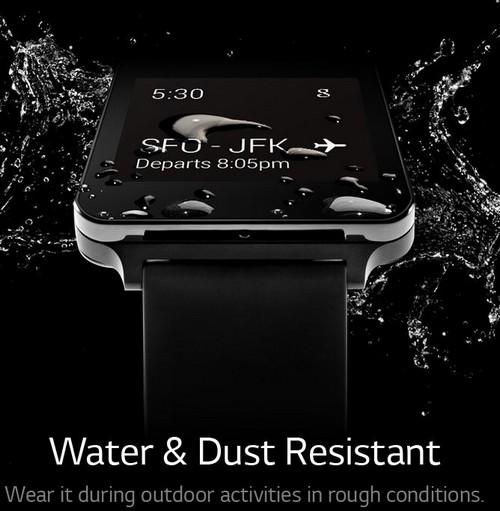 Avec la G Watch, LG redéfini la montre connectée
