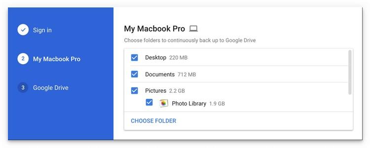 Google Drive et Google Photos fusionneront leurs logiciels d'upload dans Backup and Sync
