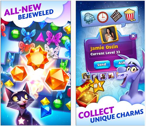 Bejeweled Stars est désormais disponible sur mobile et tablette