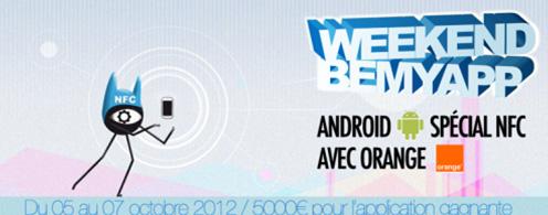 BeMyApp organise un week-end Android spécial NFC le 5 au 7 octobre