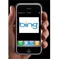 Bing pourrait remplacer Google dans l'iPhone