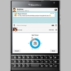 BlackBerry Messenger int�gre d�sormais des messages �ph�m�res