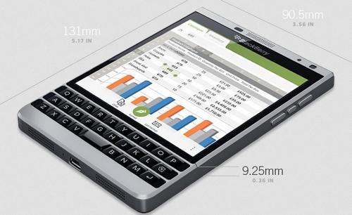 BlackBerry Passport : une édition Silver pour un marché Premium
