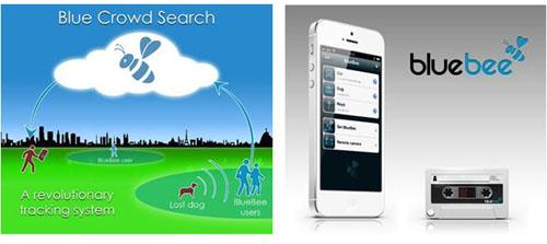 BlueBee, un accessoire pour smartphone qui utilise le cloud pour retrouver des objets