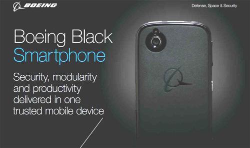 Boeing dévoile son premier smartphone sécurisé