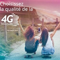 4G : Bouygues Telecom couvre 94% de la population française