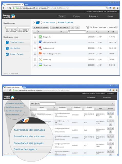 Bouygues Telecom Entreprises favorise le partage de fichiers dans le cloud pour les PME et ETI
