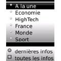 Bouygues T�l�com Entreprises lance les d�p�ches AFP sur les smartphones BlackBerry