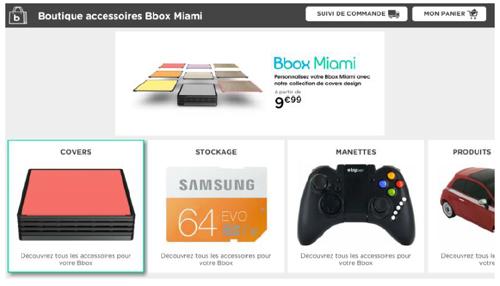 Bouygues Telecom lance son application de t-commerce sur Bbox Miami