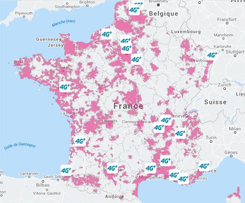 Bouygues Telecom renforce sa couverture 4G dans la Vienne