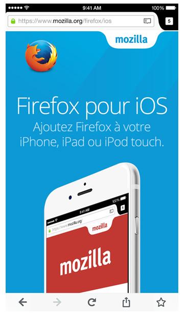 Firefox est enfin disponible pour les utilisateurs d'iPhone et d'iPad