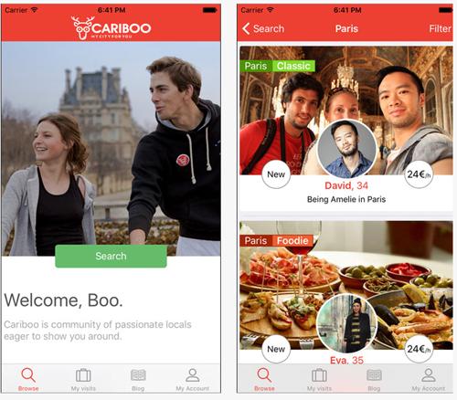 Cariboo, une application pour trouver des visites guidées sur mesure