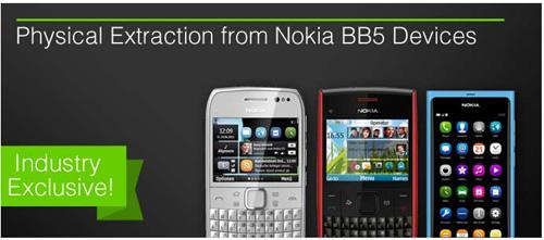 Cellebrite présente sa première solution d'extraction physique de données pour les mobiles Nokia BB5