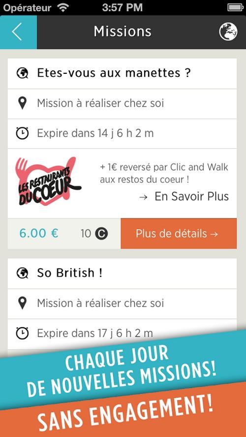 Clic and Walk : startup française parmi les plus innovantes au monde