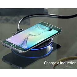 Test du chargeur à induction avec le Samsung Galaxy S6