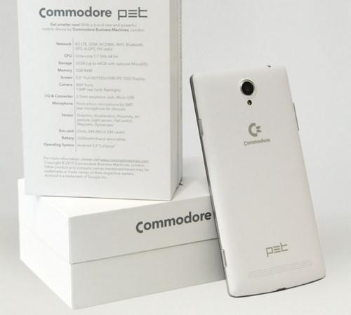 Commodore PET : la transformation de la marque en smartphone