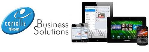 Coriolis Télécom lance  une solution de gestion des terminaux mobiles destinée aux entreprises