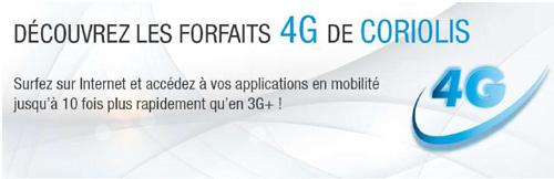 Coriolis Télécom propose la 4G aux entreprises