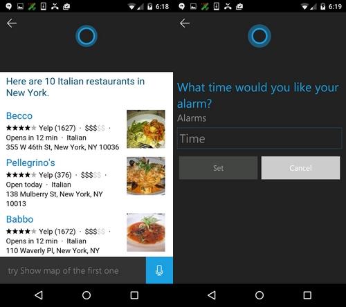 Cortana pour Android : l'application est disponible aux États-Unis