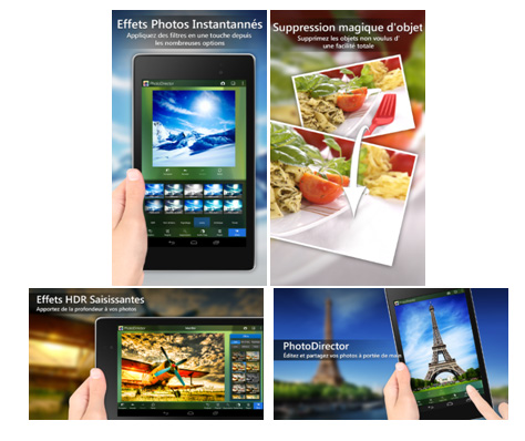 CyberLink présente PhotoDirector pour Android