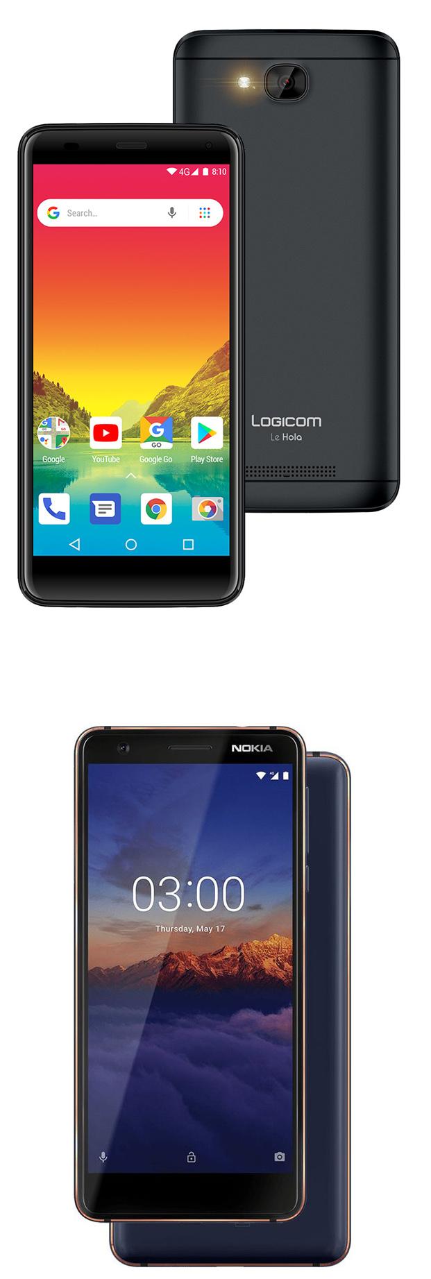 DAS : les smartphones LOGICOM Le Hola et NOKIA 3.1 sanctionnés par l'ANFR