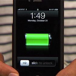 De l'hydrogène pour une autonomie record de 7 jours sur iPhone 6