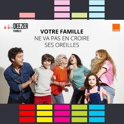 Deezer : une offre familiale qui introduit de nouvelles fonctionnalités