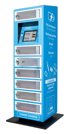 Des bornes de rechargement pour mobiles dans les enseignes - Recharge leclerc mobile ...