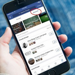 Facebook teste un onglet « Discover » pour ses groupes