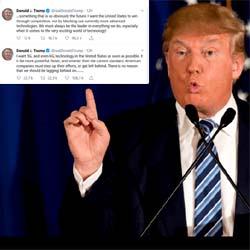 Donald Trump veut rapidement de la 6G